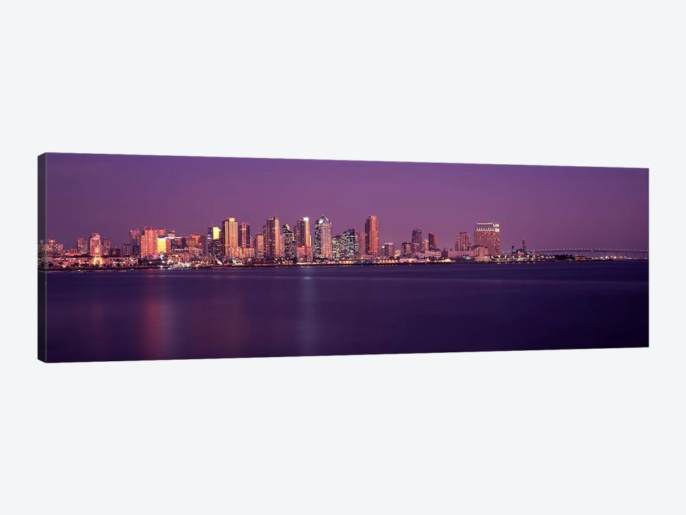 Buildings at the waterfront, San Diego, California, USA 2010 #3 by Panoramic Images 1-piece Canvas Wall Art