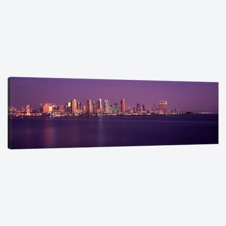 Buildings at the waterfront, San Diego, California, USA 2010 #3 Canvas Print #PIM8166} by Panoramic Images Art Print