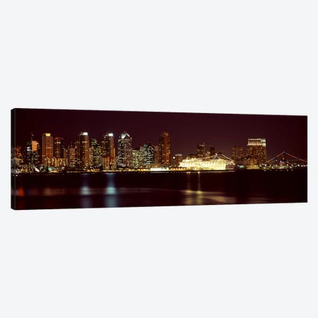 Buildings at the waterfront, San Diego, California, USA 2010 #4 Canvas Print #PIM8167} by Panoramic Images Canvas Art Print