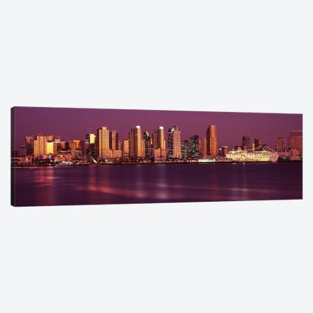 Buildings at the waterfront, San Diego, California, USA 2010 #5 Canvas Print #PIM8168} by Panoramic Images Canvas Artwork