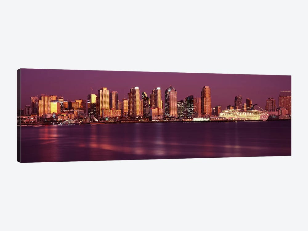Buildings at the waterfront, San Diego, California, USA 2010 #5 by Panoramic Images 1-piece Canvas Wall Art