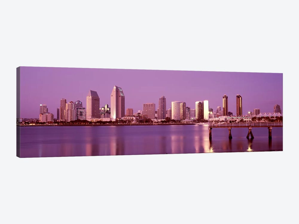 Buildings at the waterfront, San Diego, California, USA 2010 #6 by Panoramic Images 1-piece Art Print