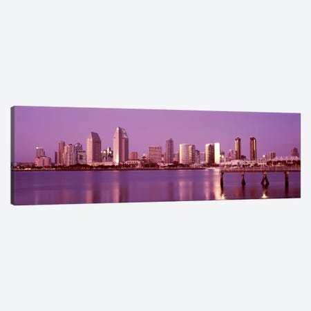 Buildings at the waterfront, San Diego, California, USA 2010 #6 Canvas Print #PIM8169} by Panoramic Images Canvas Artwork