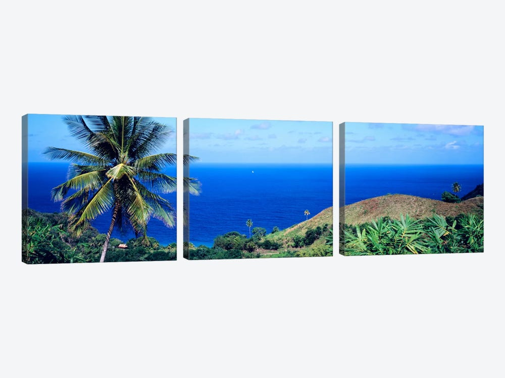 Pigeon Point Tobago by Panoramic Images 3-piece Canvas Art