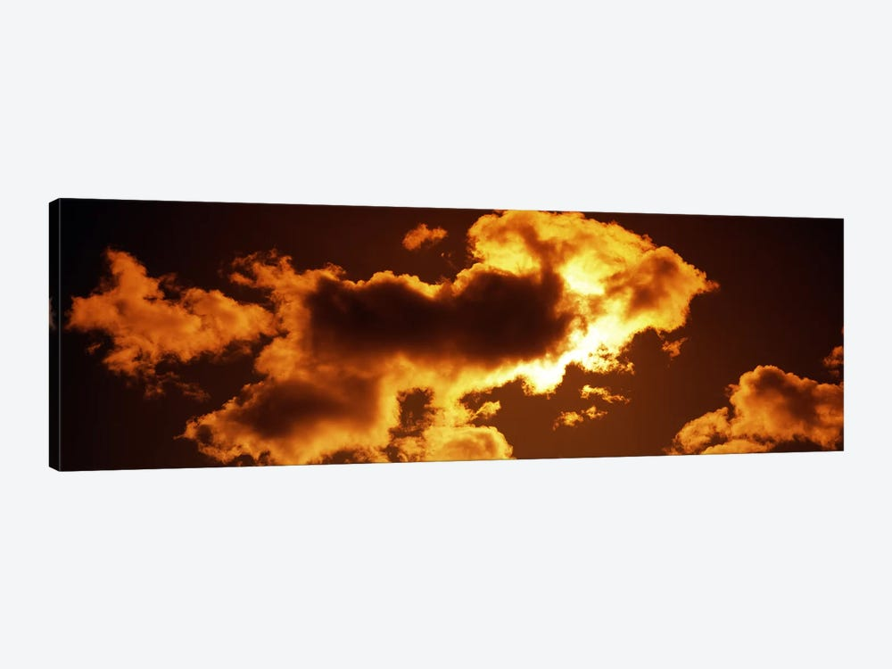 Clouds at sunset by Panoramic Images 1-piece Canvas Wall Art