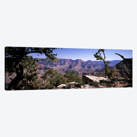 View Of The South Rim From Mather Point, Grand Canyon National Park, Arizona, USA Canvas Print #PIM8191} by Panoramic Images Canvas Print
