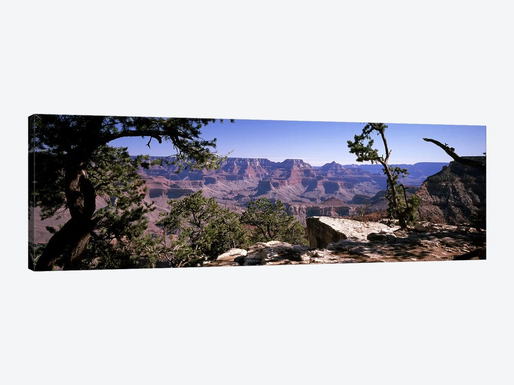 View Of The South Rim From Mather Point, Grand Canyon National Park, Arizona, USA by Panoramic Images 1-piece Canvas Artwork