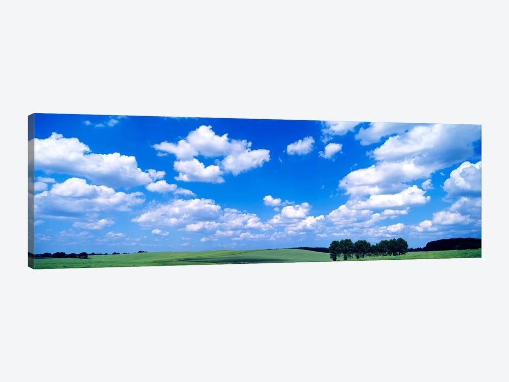 Cloudy Countryside Landscape, Germany by Panoramic Images 1-piece Canvas Print
