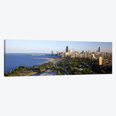 USA, Illinois, Chicago Canvas Print #PIM8205} by Panoramic Images Canvas Artwork