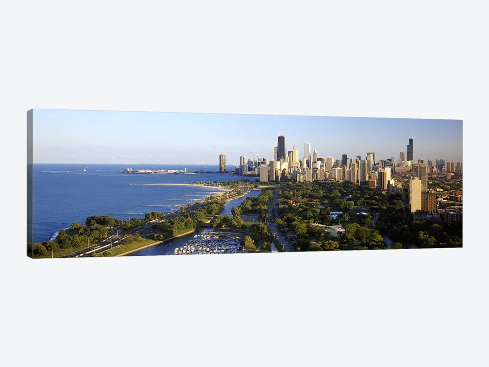USA, Illinois, Chicago by Panoramic Images 1-piece Art Print