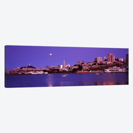 Buildings at the waterfront, San Francisco, California, USA #2 Canvas Print #PIM8208} by Panoramic Images Canvas Art Print