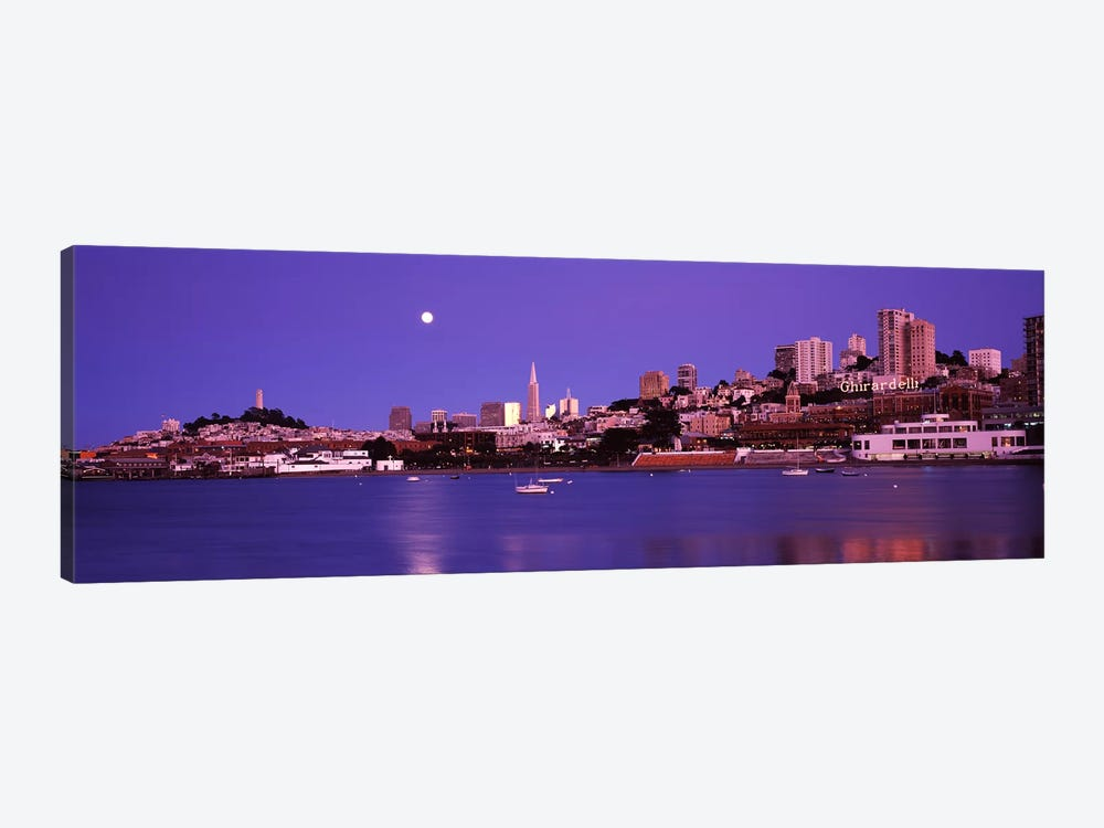 Buildings at the waterfront, San Francisco, California, USA #2 by Panoramic Images 1-piece Canvas Art