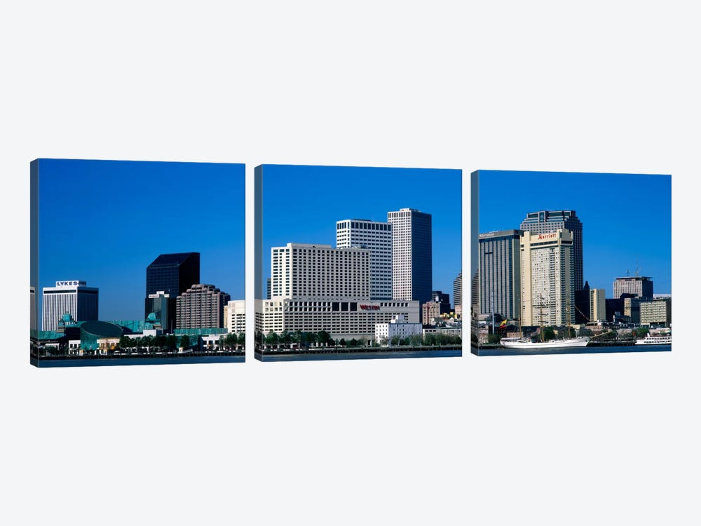 USALouisiana, New Orleans by Panoramic Images 3-piece Canvas Print