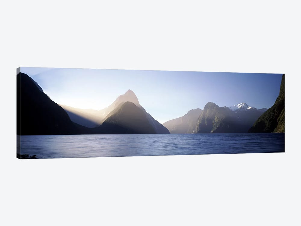 Mitre Peak, Milford Sound, Fiordland National Park, South Island, New Zealand by Panoramic Images 1-piece Canvas Print