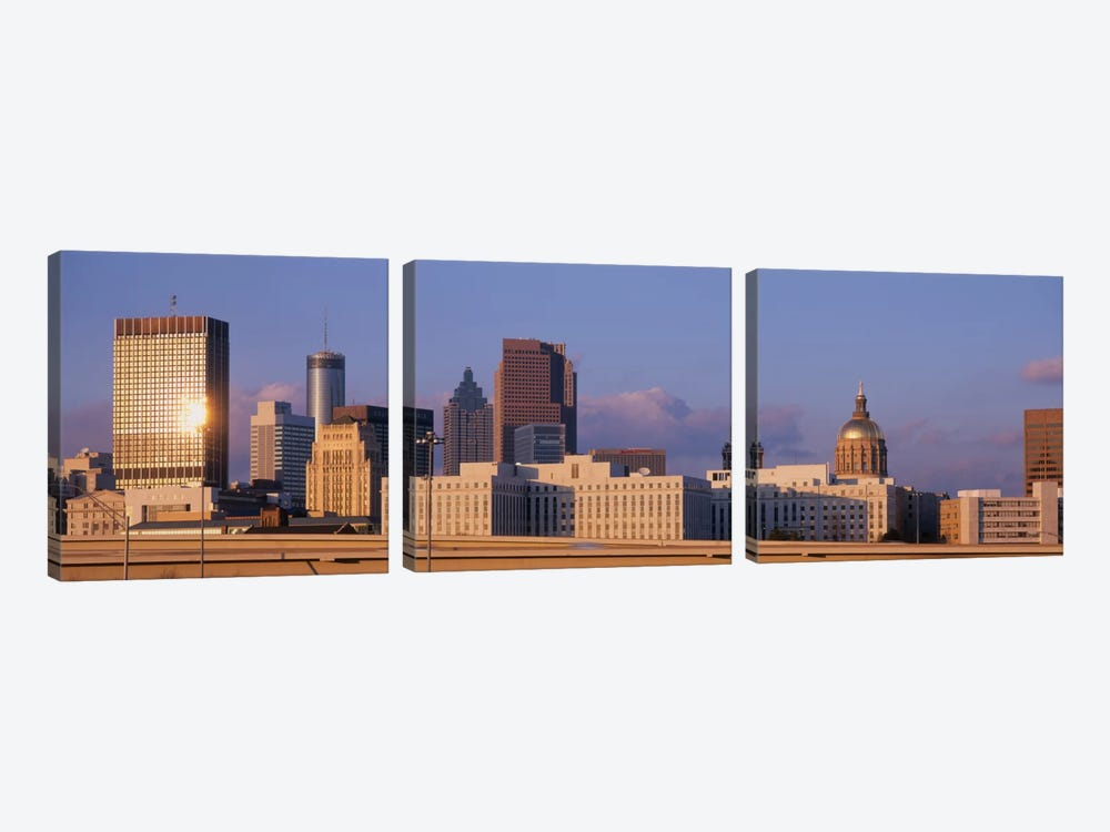 USA, Georgia, Atlanta #2 by Panoramic Images 3-piece Canvas Art Print