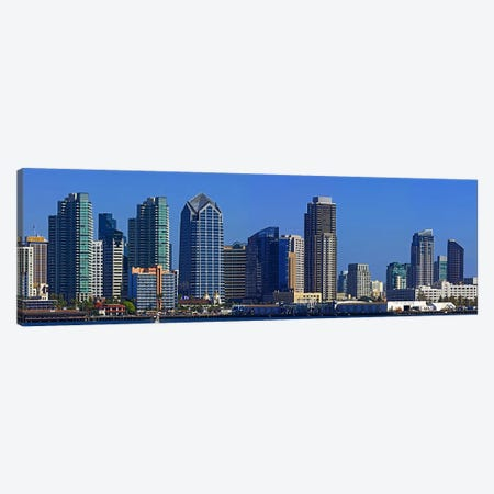 Buildings at the waterfront, San Diego, California, USA 2010 #7 Canvas Print #PIM8232} by Panoramic Images Canvas Artwork