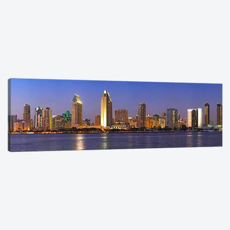 Buildings at the waterfront, San Diego, California, USA 2010 #8 Canvas Print #PIM8234} by Panoramic Images Canvas Print