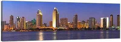 Buildings at the waterfront, San Diego, California, USA 2010 #8 Canvas Art Print
