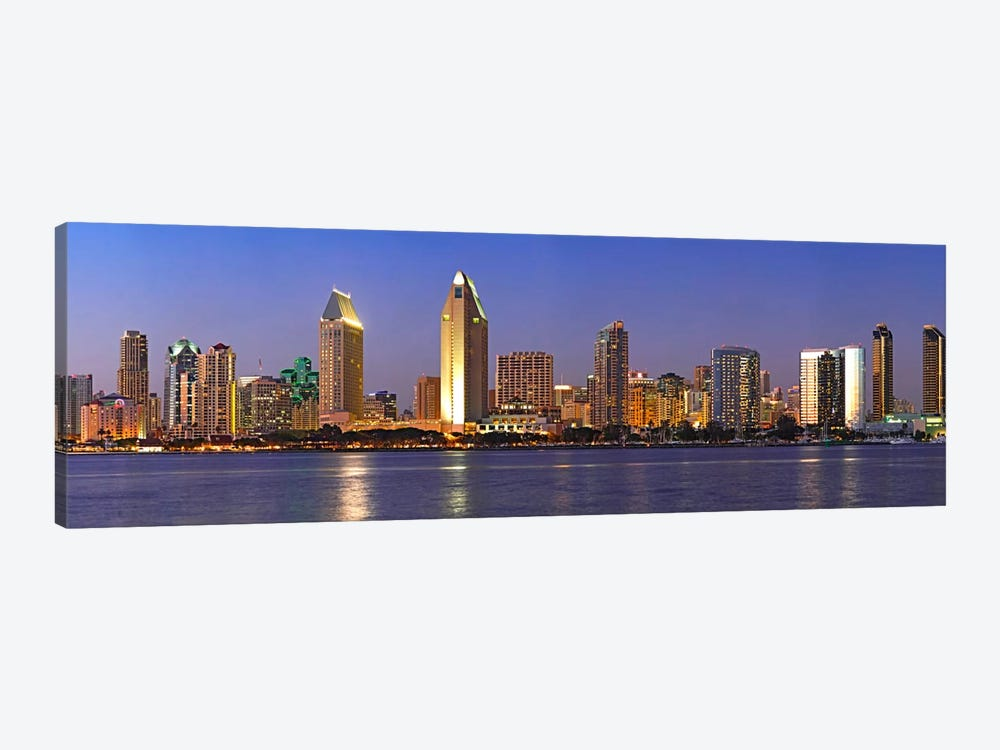 Buildings at the waterfront, San Diego, California, USA 2010 #8 by Panoramic Images 1-piece Canvas Art Print