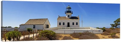 Lighthouse, Old Point Loma Lighthouse, Point Loma, Cabrillo National Monument, San Diego, California, USA Canvas Print #PIM8235