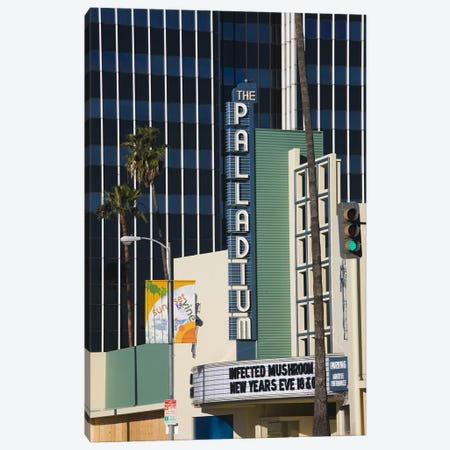 Theater in a city, Hollywood Palladium, Hollywood, Los Angeles, California, USA Canvas Print #PIM8244} by Panoramic Images Canvas Artwork