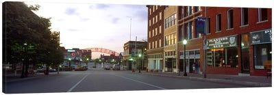 Buildings in a city, Kansas City, Jackson County, Missouri, USA #2 Canvas Art Print