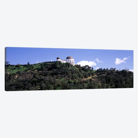 Observatory on a hill, Griffith Park Observatory, Los Angeles, California, USA #2 Canvas Print #PIM8270} by Panoramic Images Canvas Wall Art