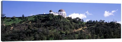 Observatory on a hill, Griffith Park Observatory, Los Angeles, California, USA #2 Canvas Print #PIM8270