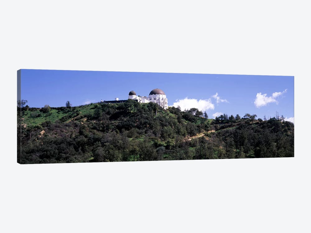 Observatory on a hill, Griffith Park Observatory, Los Angeles, California, USA #2 by Panoramic Images 1-piece Canvas Art Print
