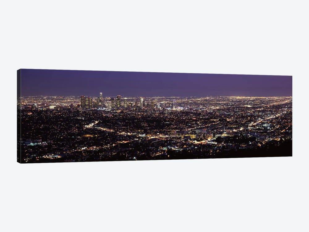 Aerial view of a cityscapeLos Angeles, California, USA by Panoramic Images 1-piece Canvas Art