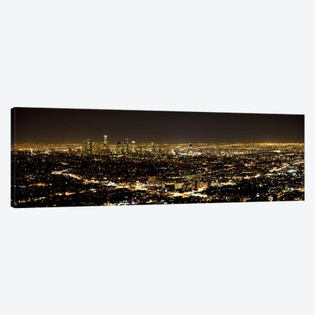Aerial view of a cityscape, Los Angeles, California, USA 2010 #3 Canvas Print #PIM8283} by Panoramic Images Canvas Print