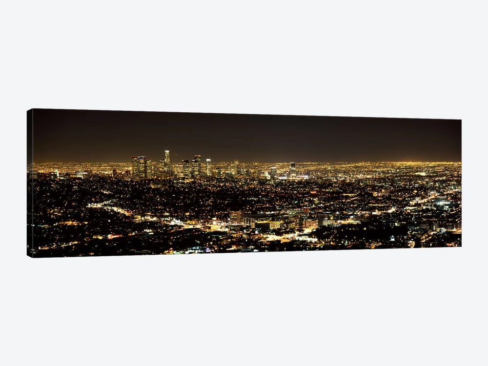 Aerial view of a cityscape, Los Angeles, California, USA 2010 #3 by Panoramic Images 1-piece Art Print