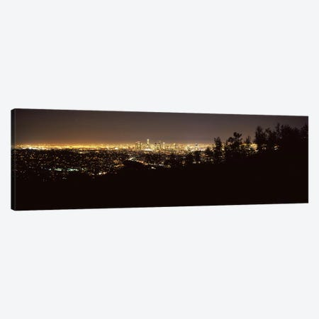 Aerial view of a cityscapeLos Angeles, California, USA Canvas Print #PIM8284} by Panoramic Images Canvas Artwork