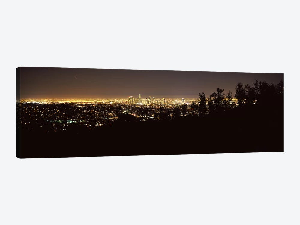Aerial view of a cityscapeLos Angeles, California, USA 1-piece Canvas Art