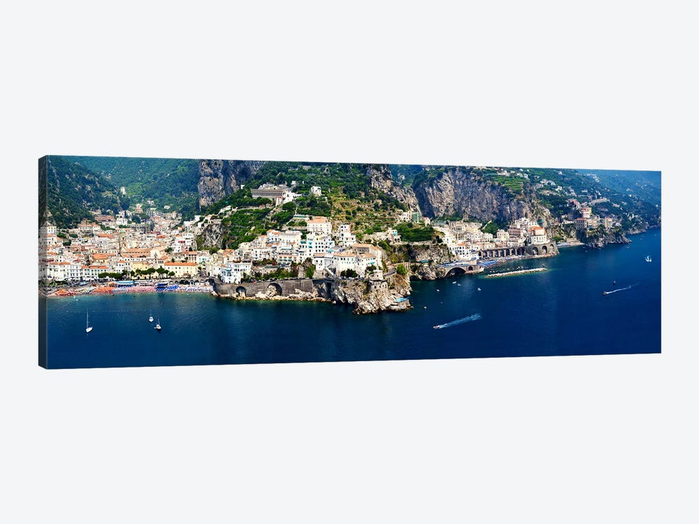 Aerial View, Amalfi Coast, Salerno, Campania, Italy by Panoramic Images 1-piece Art Print