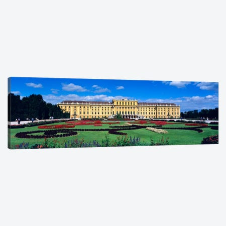 Schonbrunn Palace, Hietzing, Vienna, Austria Canvas Print #PIM829} by Panoramic Images Canvas Artwork