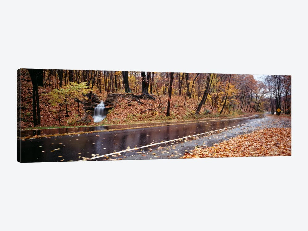 Roadside Waterfall, Euclid Creek Reservation, Euclid, Ohio, USA by Panoramic Images 1-piece Canvas Art