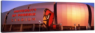 Facade of a stadium, University of Phoenix Stadium, Glendale, Phoenix, Arizona, USA Canvas Art Print