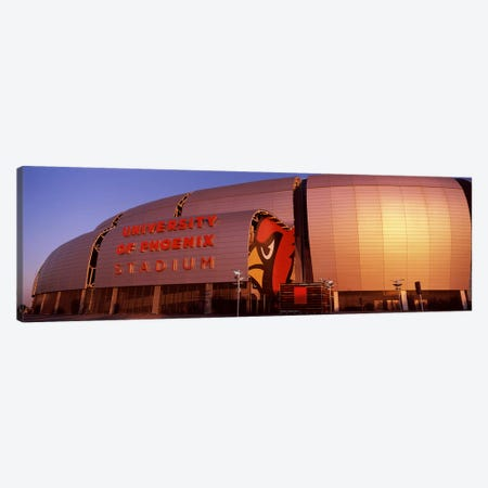 Facade of a stadium, University of Phoenix Stadium, Glendale, Phoenix, Arizona, USA #2 Canvas Print #PIM8301} by Panoramic Images Canvas Wall Art