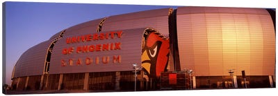 Facade of a stadium, University of Phoenix Stadium, Glendale, Phoenix, Arizona, USA #2 Canvas Art Print
