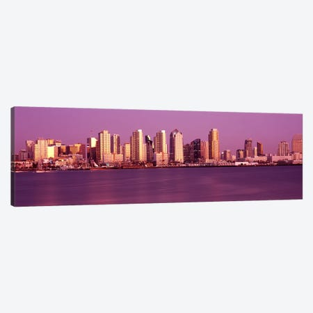 Buildings at the waterfront, San Diego, California, USA #4 Canvas Print #PIM8306} by Panoramic Images Canvas Print