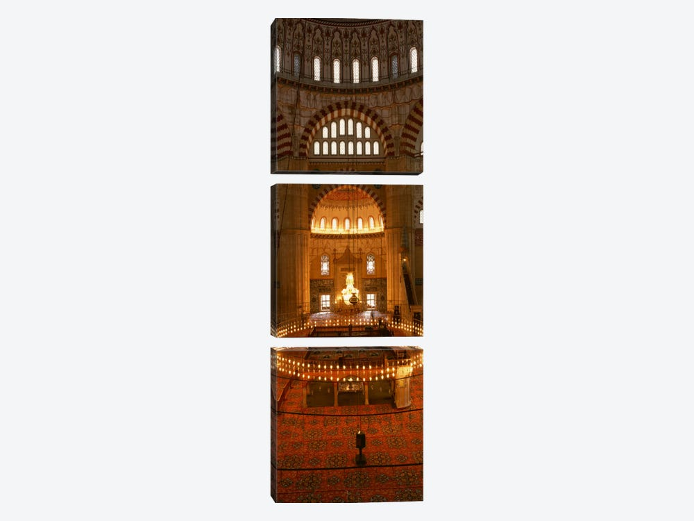 TurkeyEdirne, Selimiye Mosque by Panoramic Images 3-piece Canvas Wall Art