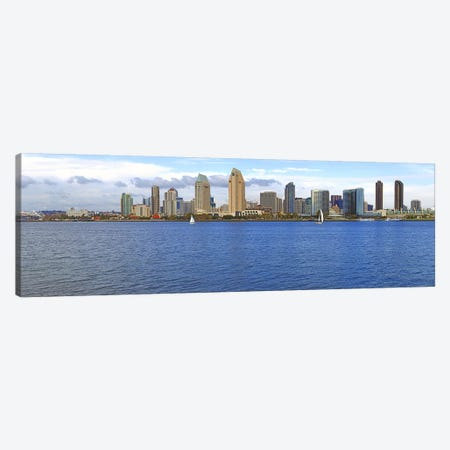 Buildings at the waterfront, San Diego, California, USA 2010 #9 Canvas Print #PIM8331} by Panoramic Images Canvas Print