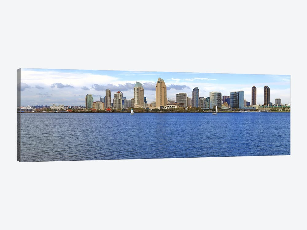 Buildings at the waterfront, San Diego, California, USA 2010 #9 by Panoramic Images 1-piece Canvas Print