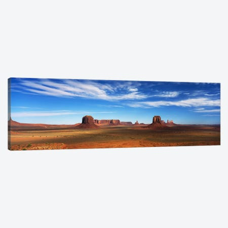 Monument Valley, Navajo Nation, Colorado Plateau, USA Canvas Print #PIM83} by Panoramic Images Canvas Artwork