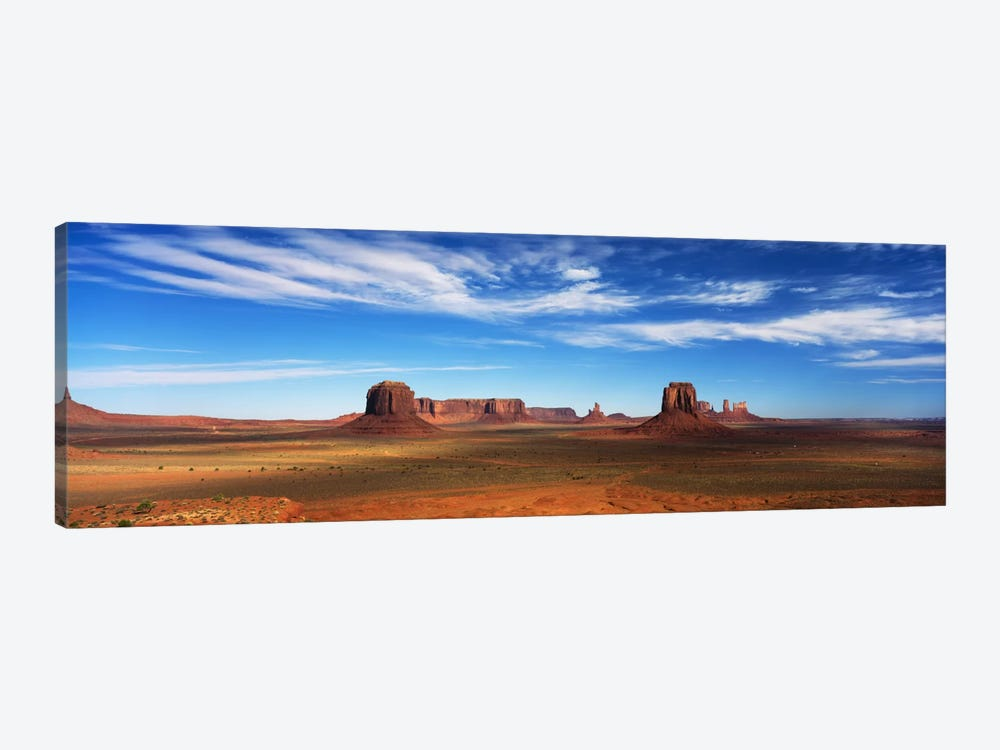 Monument Valley, Navajo Nation, Colorado Plateau, USA by Panoramic Images 1-piece Canvas Art Print