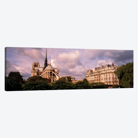 France, Paris, Notre Dame Canvas Print #PIM840} by Panoramic Images Canvas Artwork