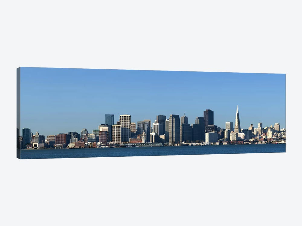 CaptionCity at the waterfront, San Francisco Bay, San Francisco, California, USA 2010 by Panoramic Images 1-piece Art Print
