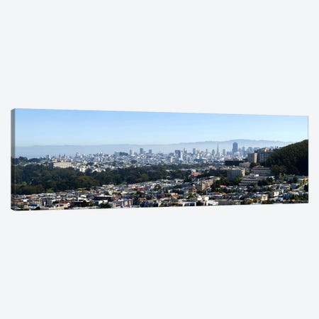 High Angle View of A CitySan Francisco, California, USA Canvas Print #PIM8419} by Panoramic Images Canvas Art