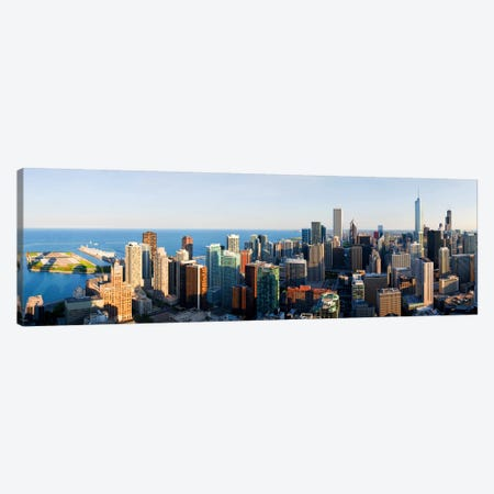 Buildings in a city, Chicago, Cook County, Illinois, USA 2010 Canvas Print #PIM8426} by Panoramic Images Canvas Art